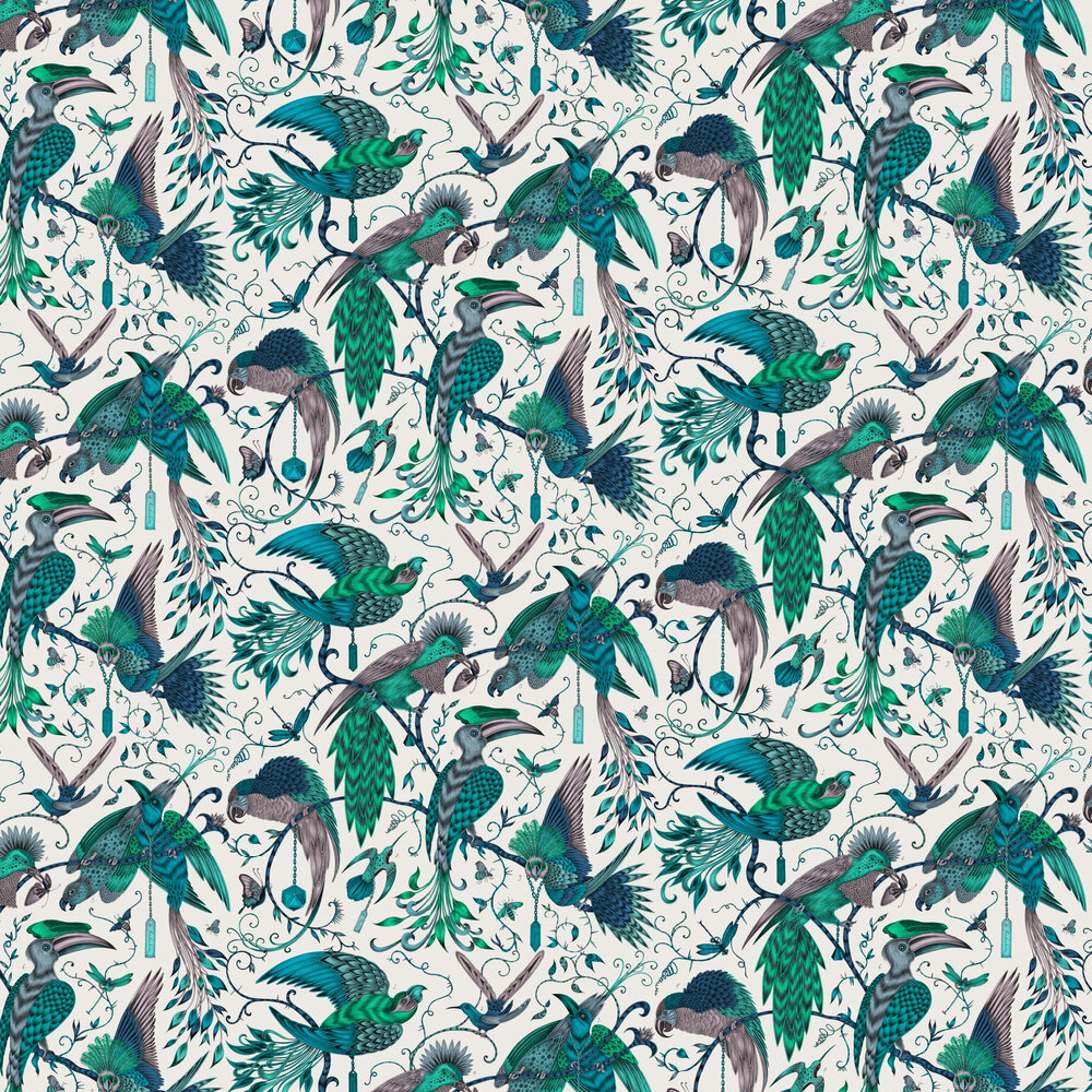 Audubon Wallpaper - Jungle - by Emma J Shipley