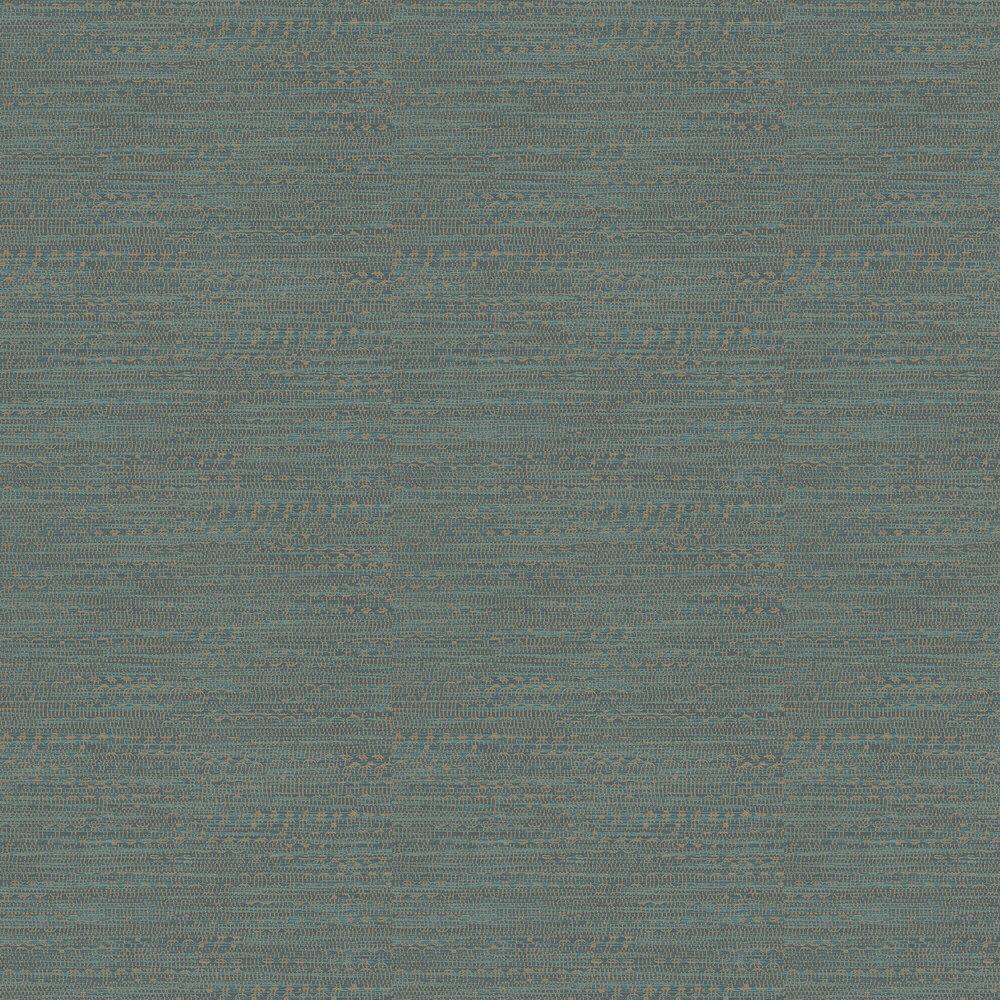 Tapestry Wallpaper - Teal - by Eijffinger