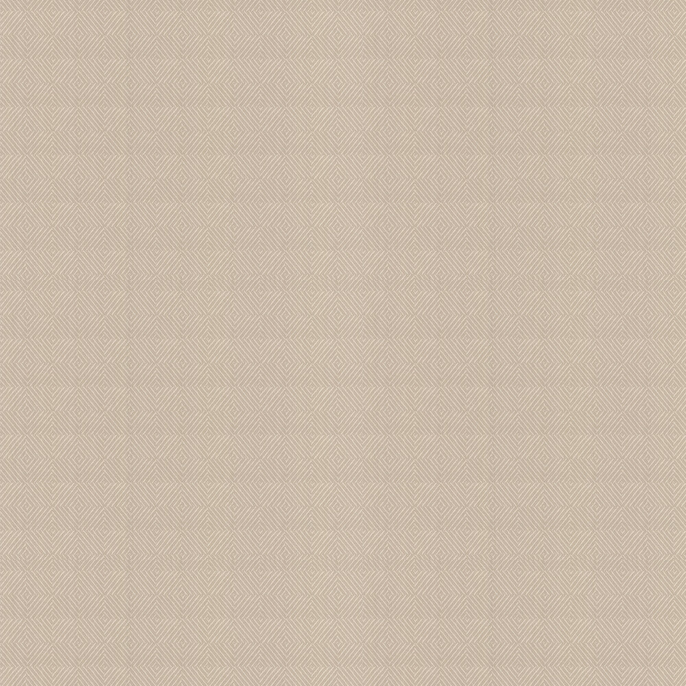 Carine Wallpaper - Beige - by Colefax and Fowler