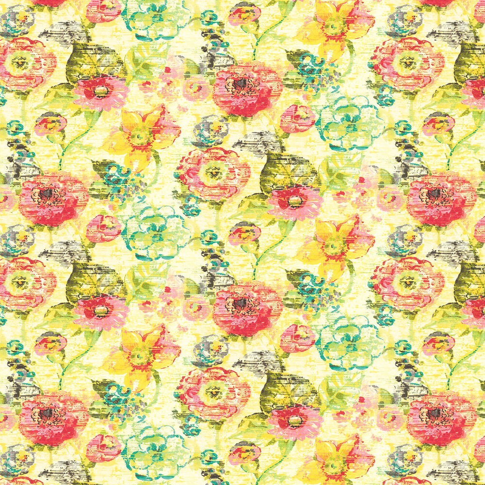 Floral Dream Wallpaper - Bright Multi - by Albany