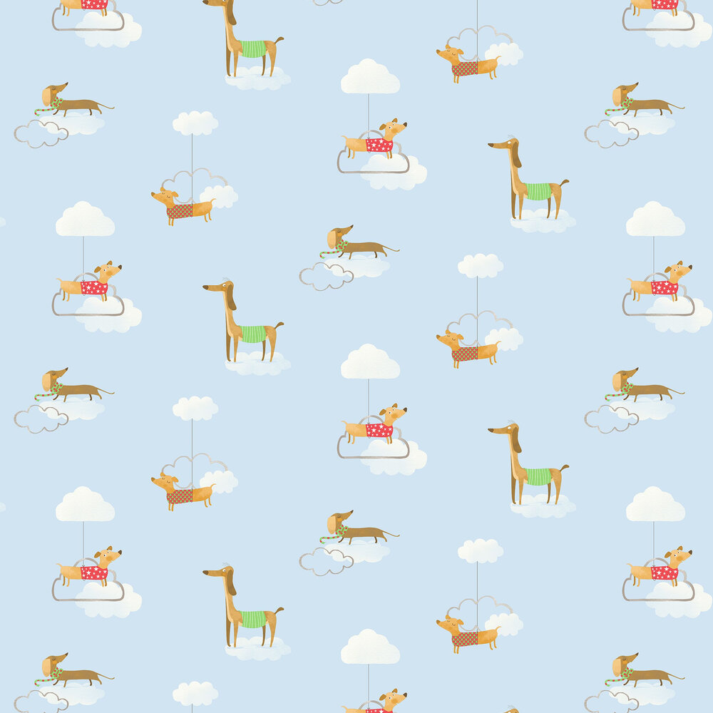 Albany Walkies Blue Wallpaper - Product code: 12550