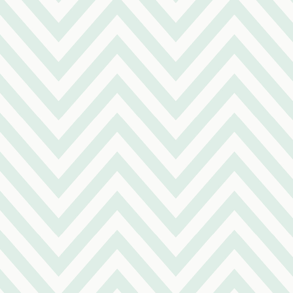Chevron Wallpaper - Blue - by Albany