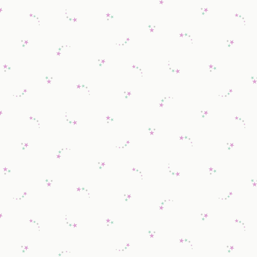 Albany Shooting Stars Pink Wallpaper - Product code: 12591