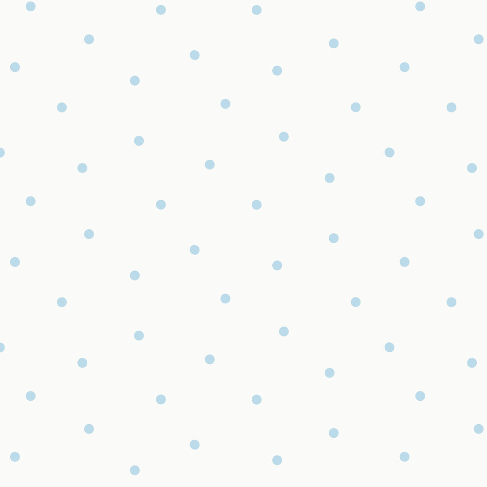 Dotty Wallpaper - Blue - by Albany