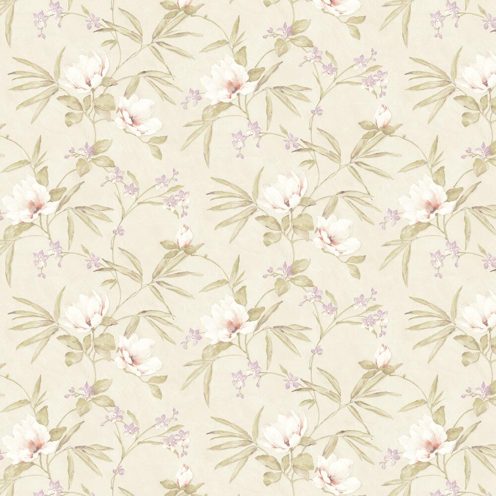 Albany Fiore Oriental Cream Wallpaper - Product code: FO3202