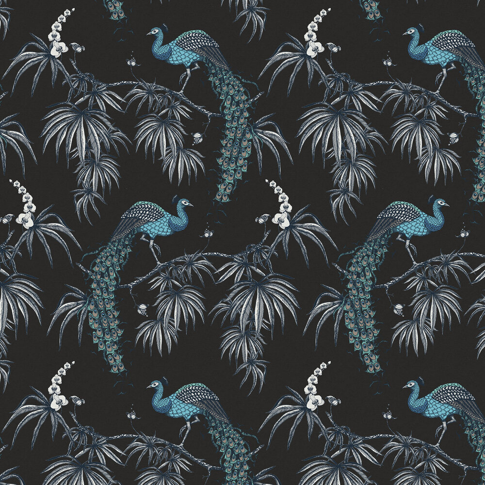Fardis Carmen Blue / Black Wallpaper - Product code: 10883
