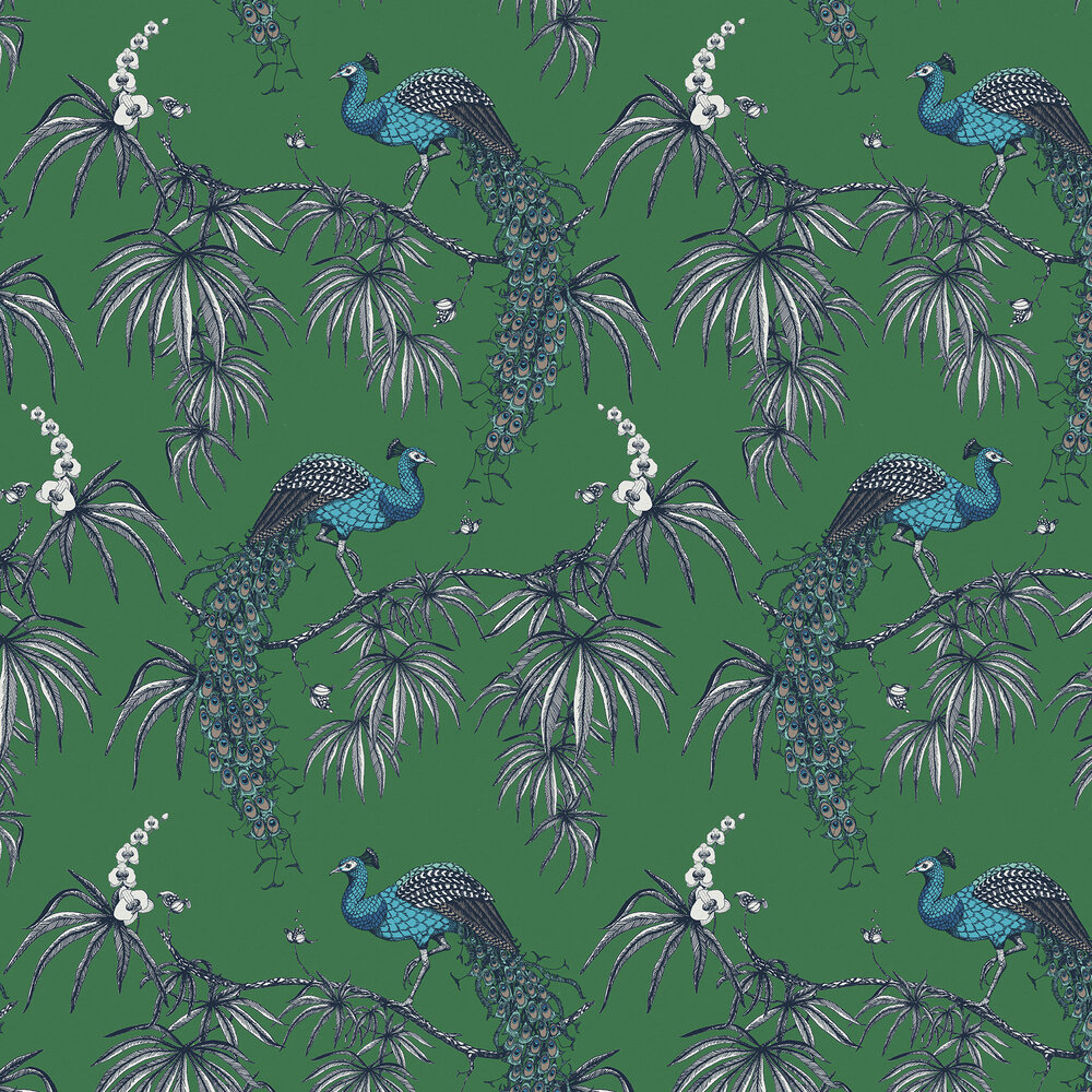 Fardis Carmen Blue / Green Wallpaper - Product code: 10884