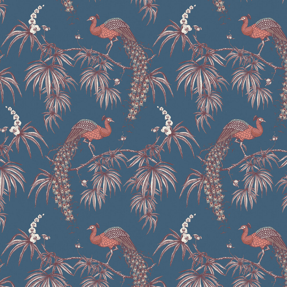 Fardis Carmen Red / Blue Wallpaper - Product code: 10887