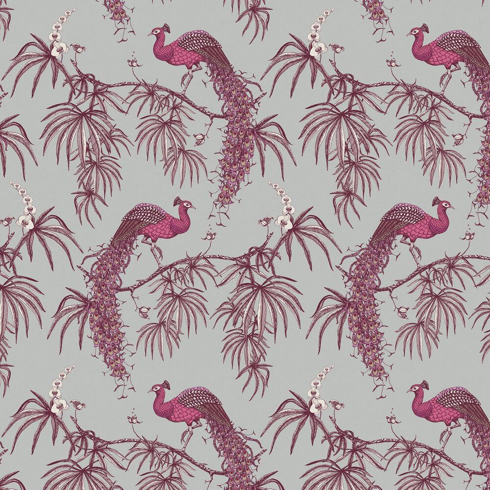 Fardis Carmen Pink / Grey Wallpaper - Product code: 10888