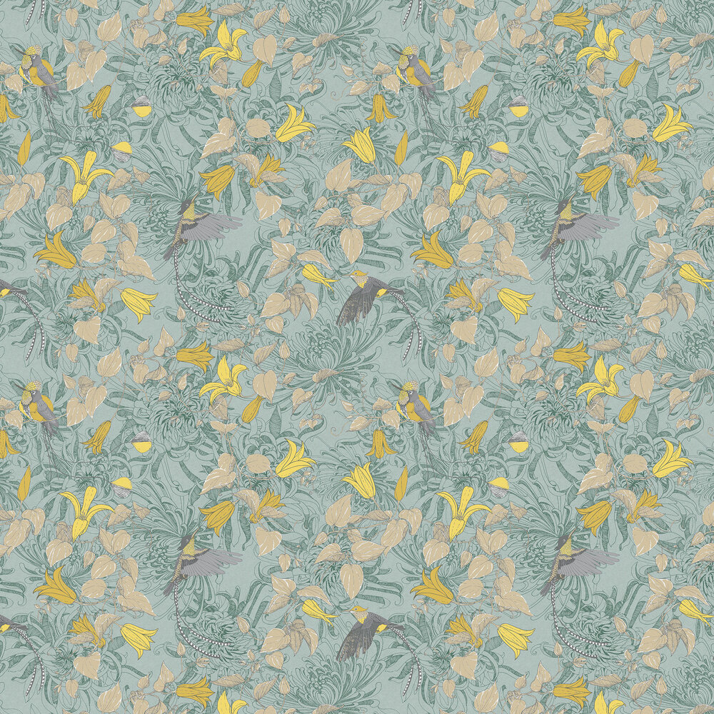 Fardis Lucia Green Wallpaper - Product code: 10909