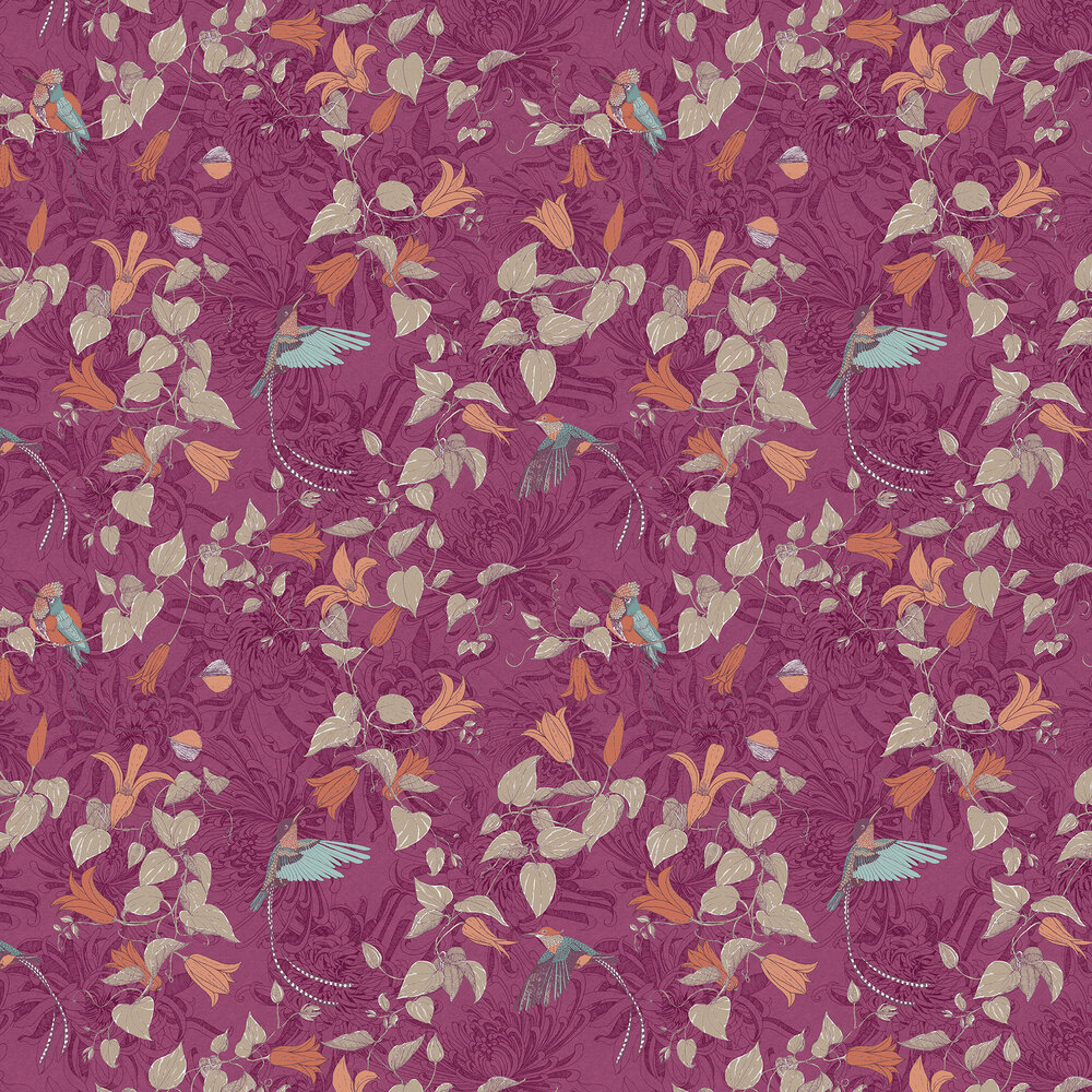 Fardis Lucia Pink Wallpaper - Product code: 10910