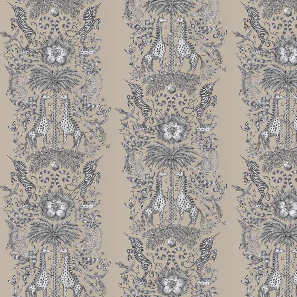 Emma J Shipley Kruger Monochrome Wallpaper - Product code: W0102/05