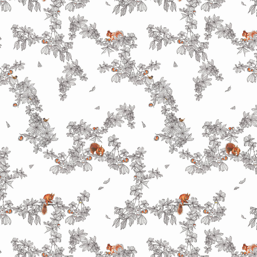 Conker Wallpaper - Snow - by Petronella Hall