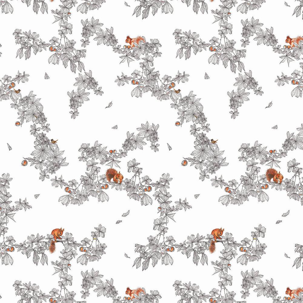 Petronella Hall Conker Snow Wallpaper - Product code: C-WS