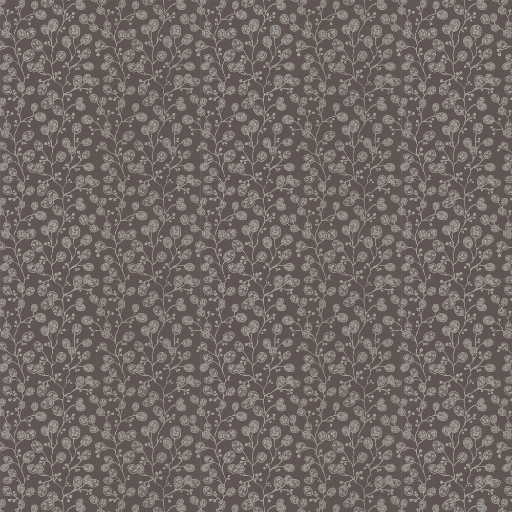 Clarke & Clarke Honesty Charcoal / Gold Wallpaper - Product code: W0092/01