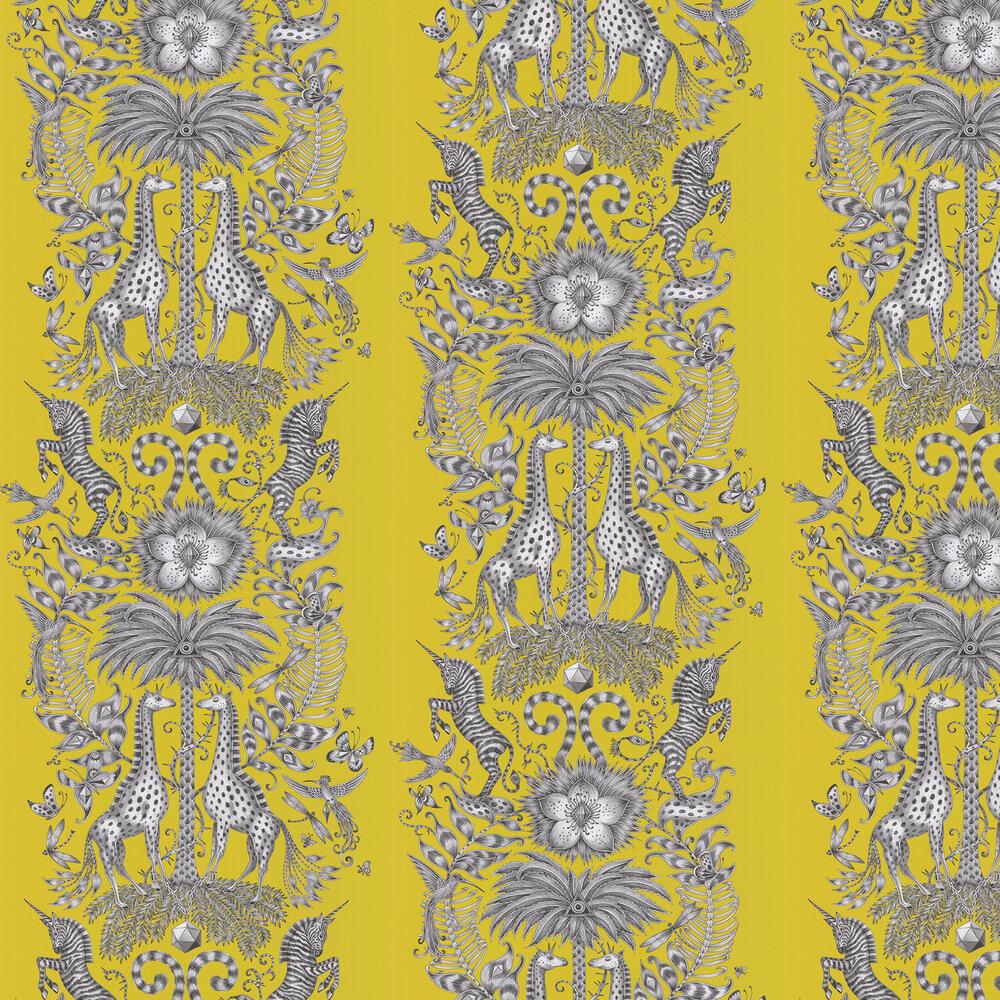 Emma J Shipley Kruger Lime Wallpaper - Product code: W0102/03
