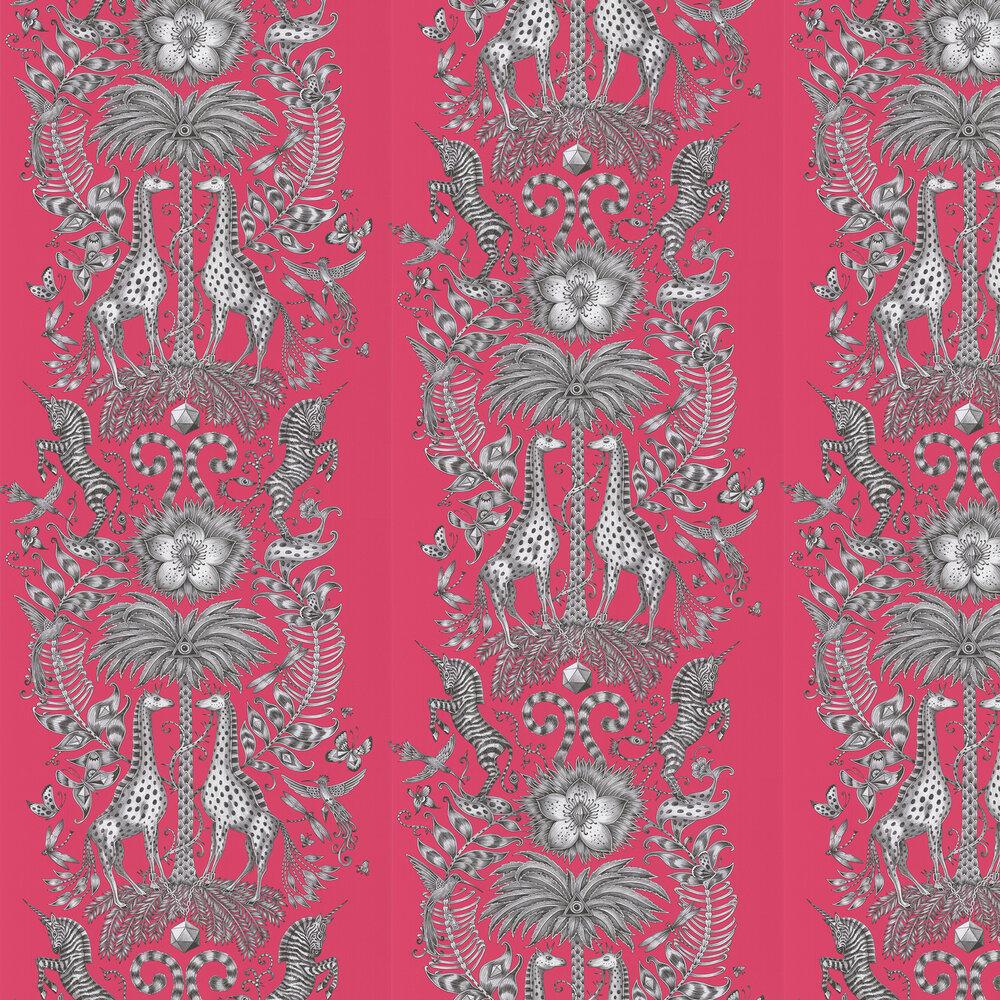 Emma J Shipley Kruger Magenta Wallpaper - Product code: W0102/04