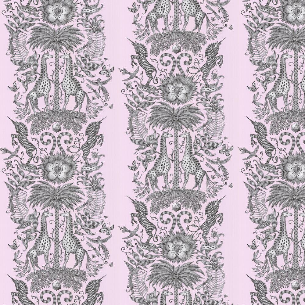 Kruger Wallpaper - Pink - by Emma J Shipley