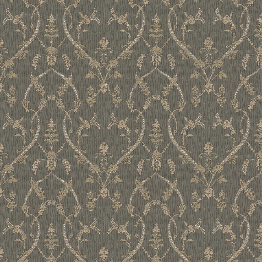 Albany Tiffany Lustre Monika Mocha Wallpaper - Product code: 9364