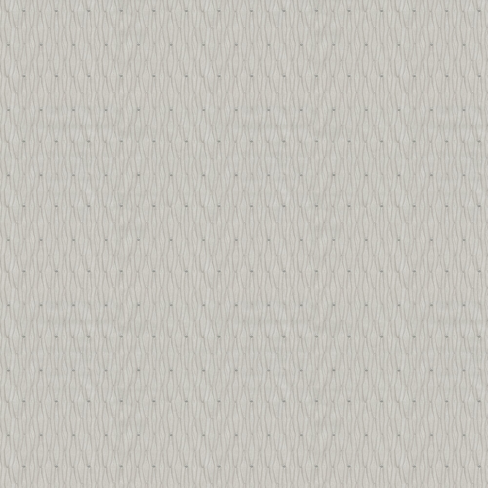 Albany Tiffany Lustre Bead Silver Wallpaper - Product code: 9369