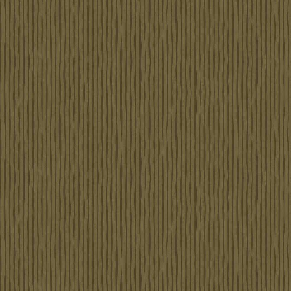 Engblad & Co Lines Large Olive Wallpaper - Product code: 6208