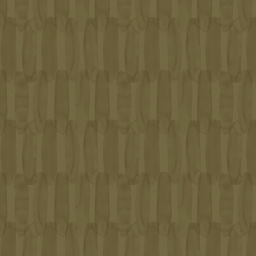 Engblad & Co Brush Large Olive Wallpaper - Product code: 6216