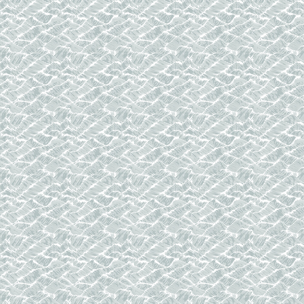 Auguste Wallpaper - Aqua - by Coordonne
