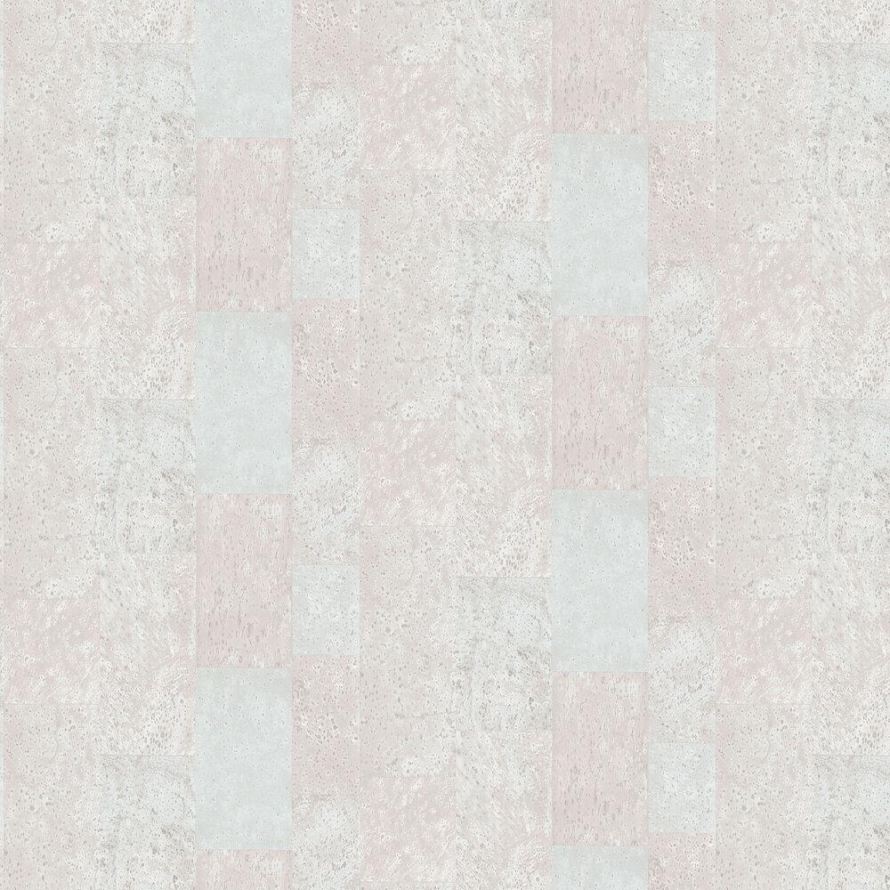 Galerie Cork Tile Duck Egg Wallpaper - Product code: G56397