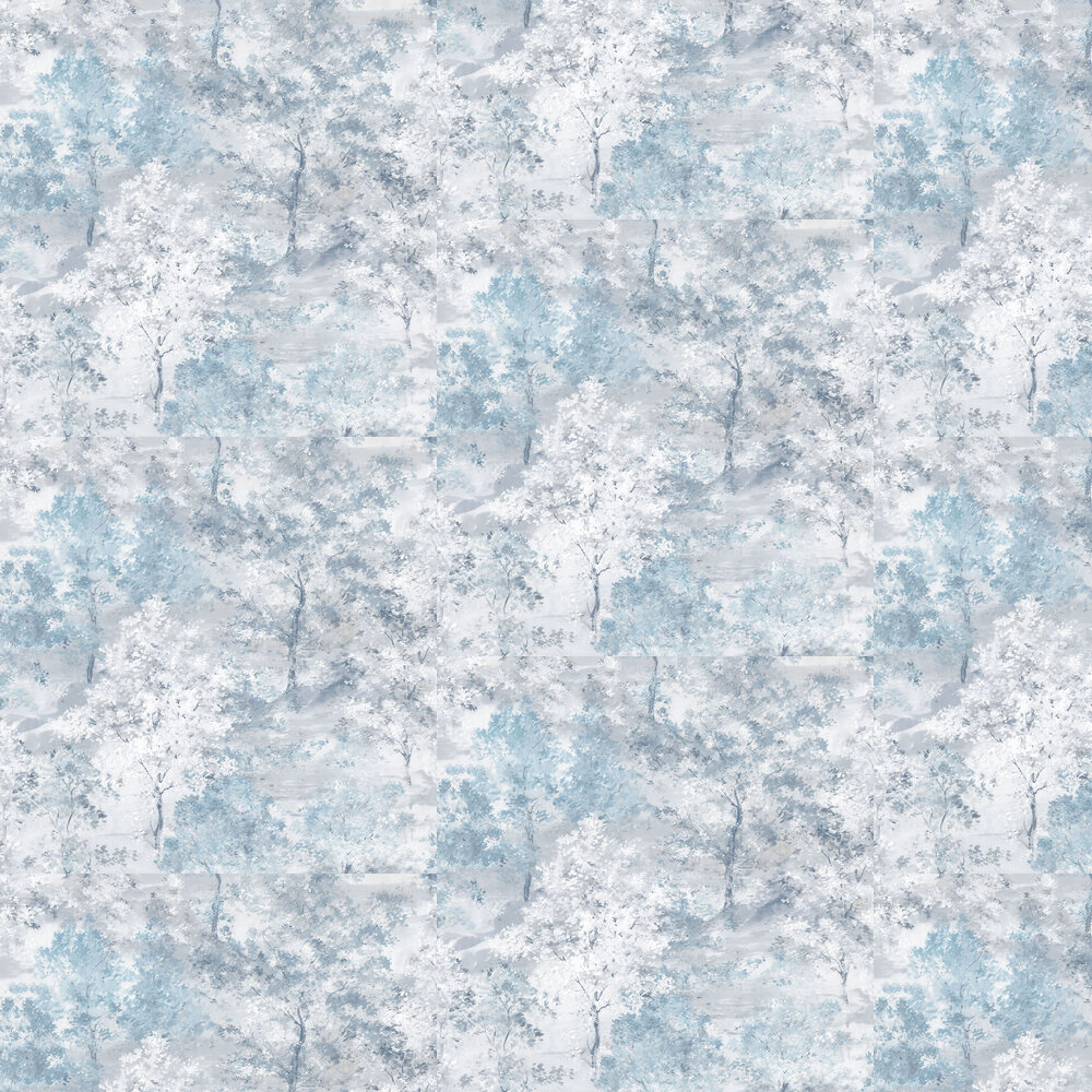 Galerie Forest Blue Wallpaper - Product code: G56431