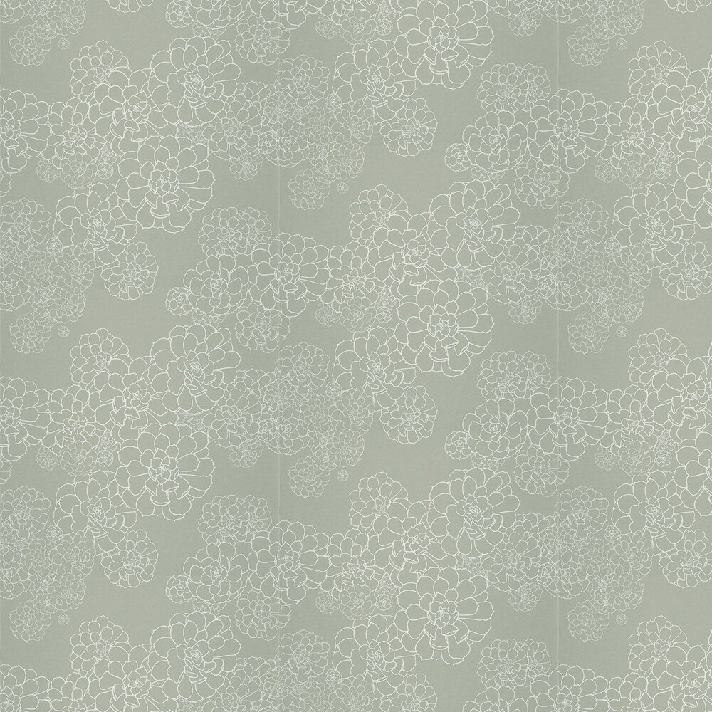 Paint & Paper Library Aeonium Steel Wallpaper - Product code: 0393AESTEEL
