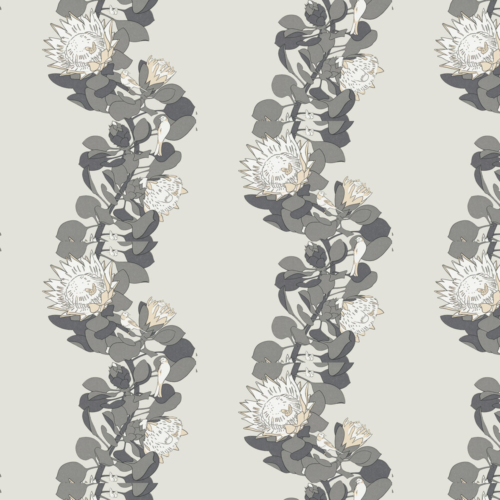 Protea Trail Wallpaper - Monument - by Paint & Paper Library