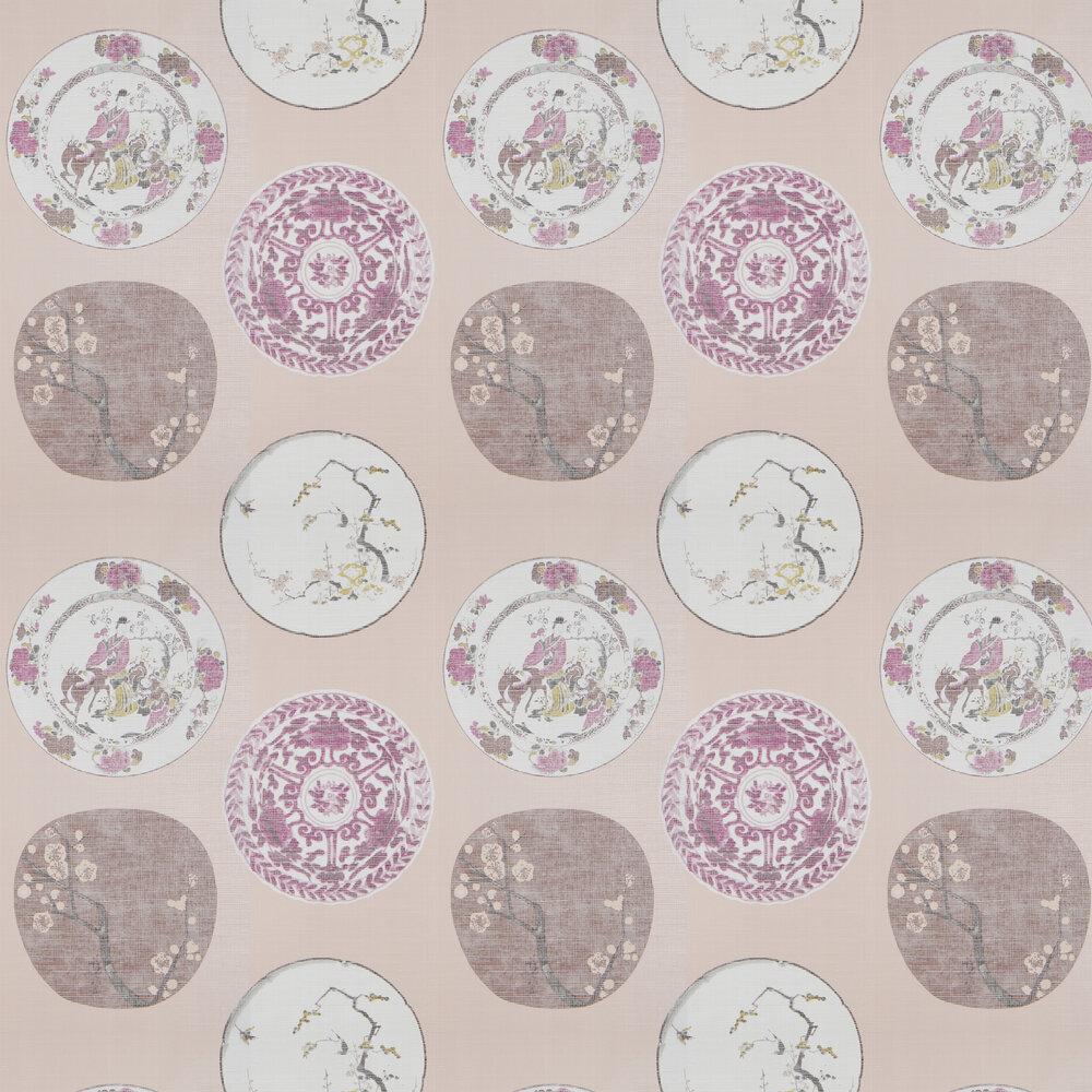 Okirai Wallpaper - Pink - by JAB Anstoetz