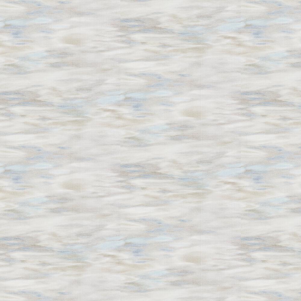 Oshimoto Wallpaper - Blue / Grey / Cream - by JAB Anstoetz