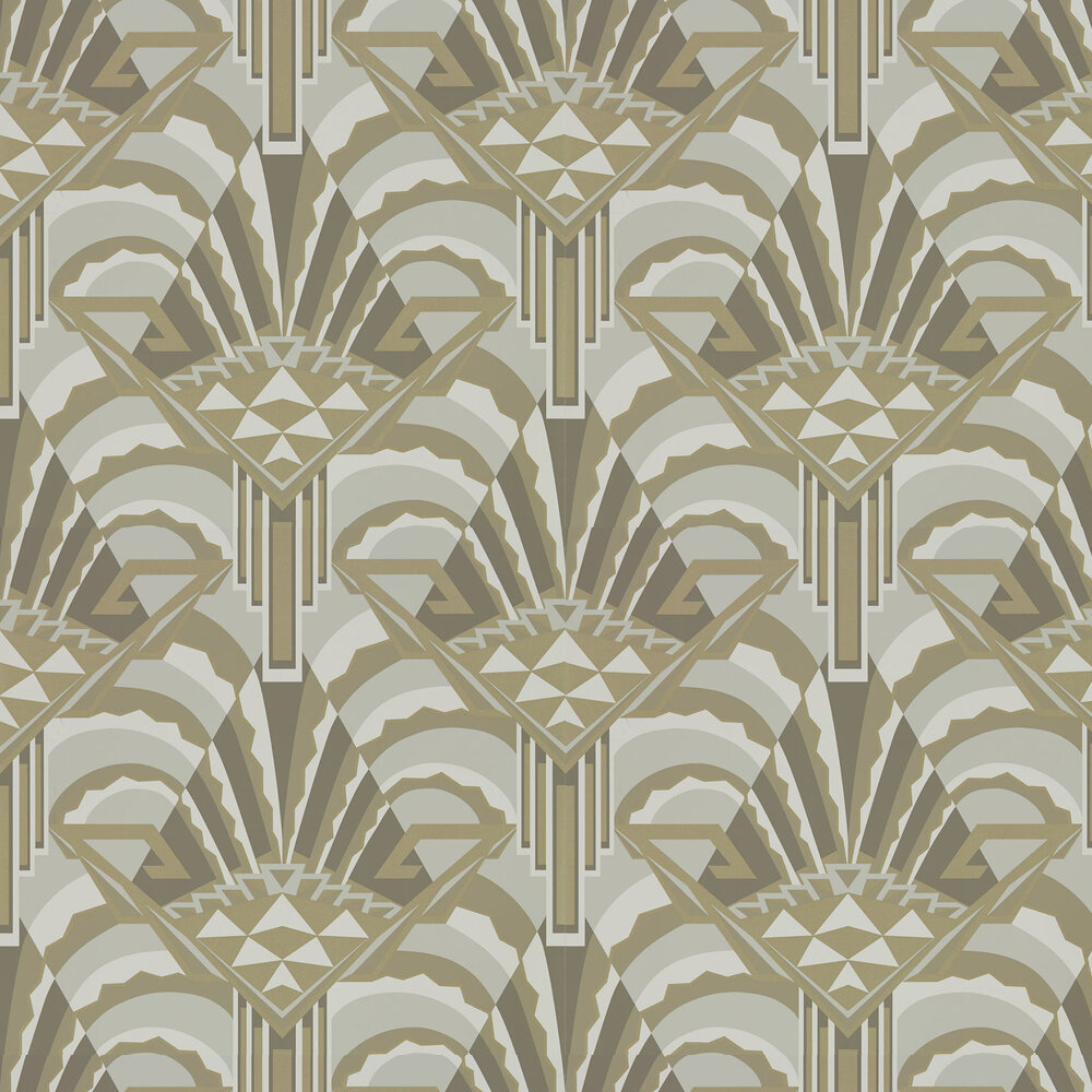 Conway Wallpaper - Pearl - by Zoffany