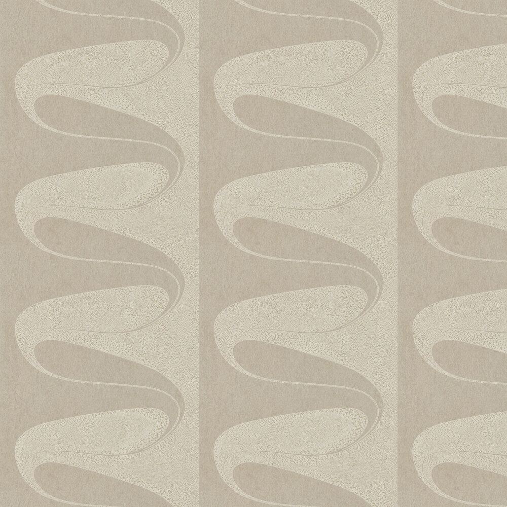 D'Arcy Wallpaper - Smoked Pearl - by Zoffany