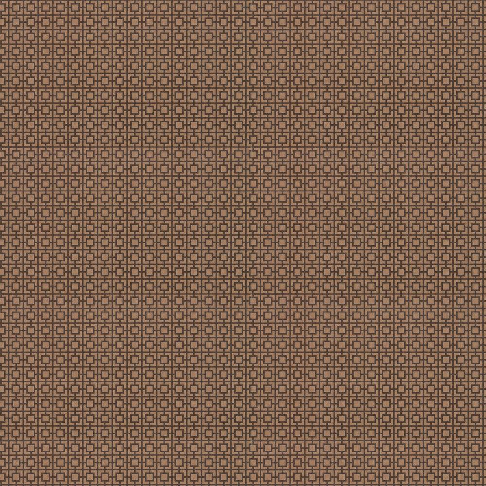 Seizo Wallpaper - Copper - by Zoffany