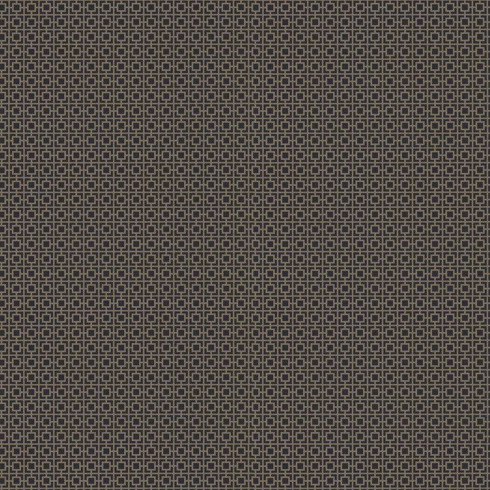 Seizo Wallpaper - Vine Black - by Zoffany