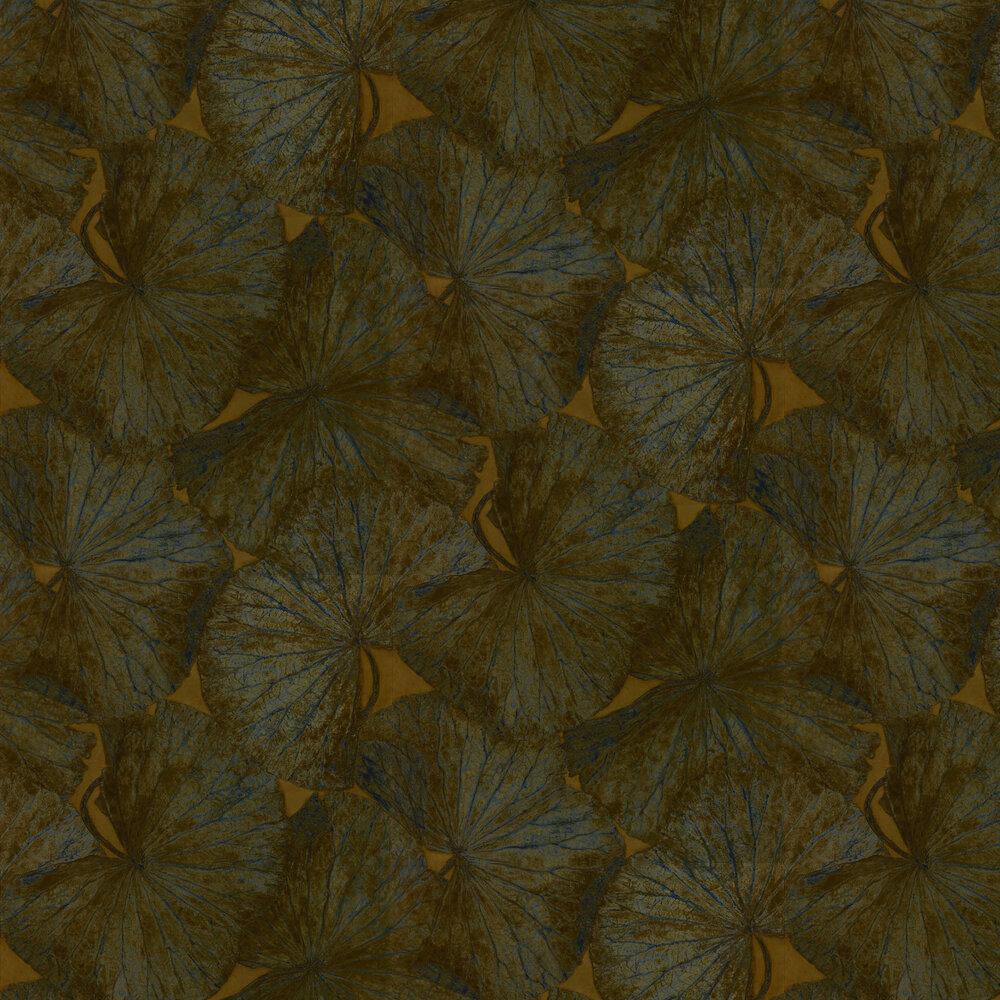 Taisho Deco Wallpaper - Tigers Eye - by Zoffany