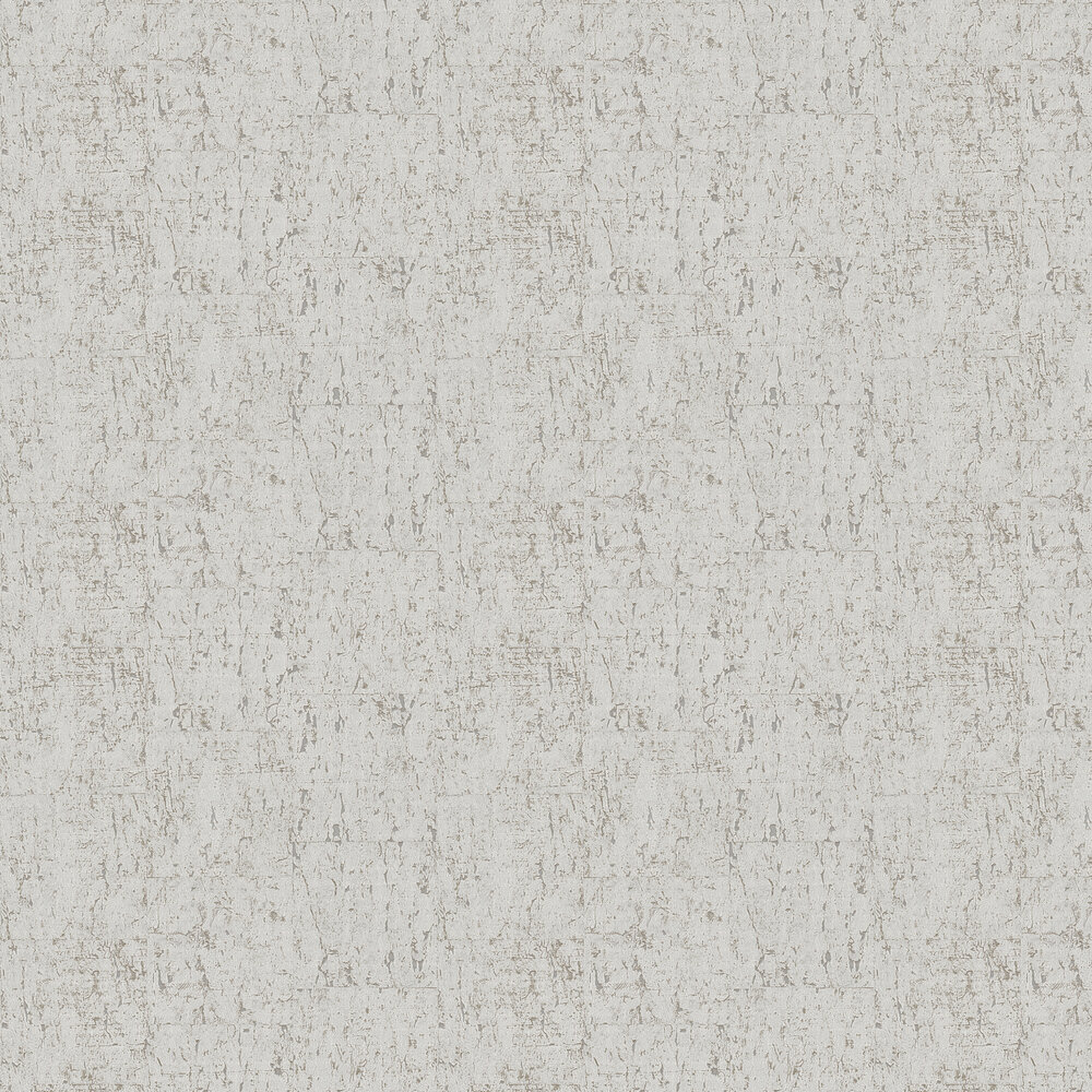 Cork Effect Wallpaper - Grey / Silver - by Brewers