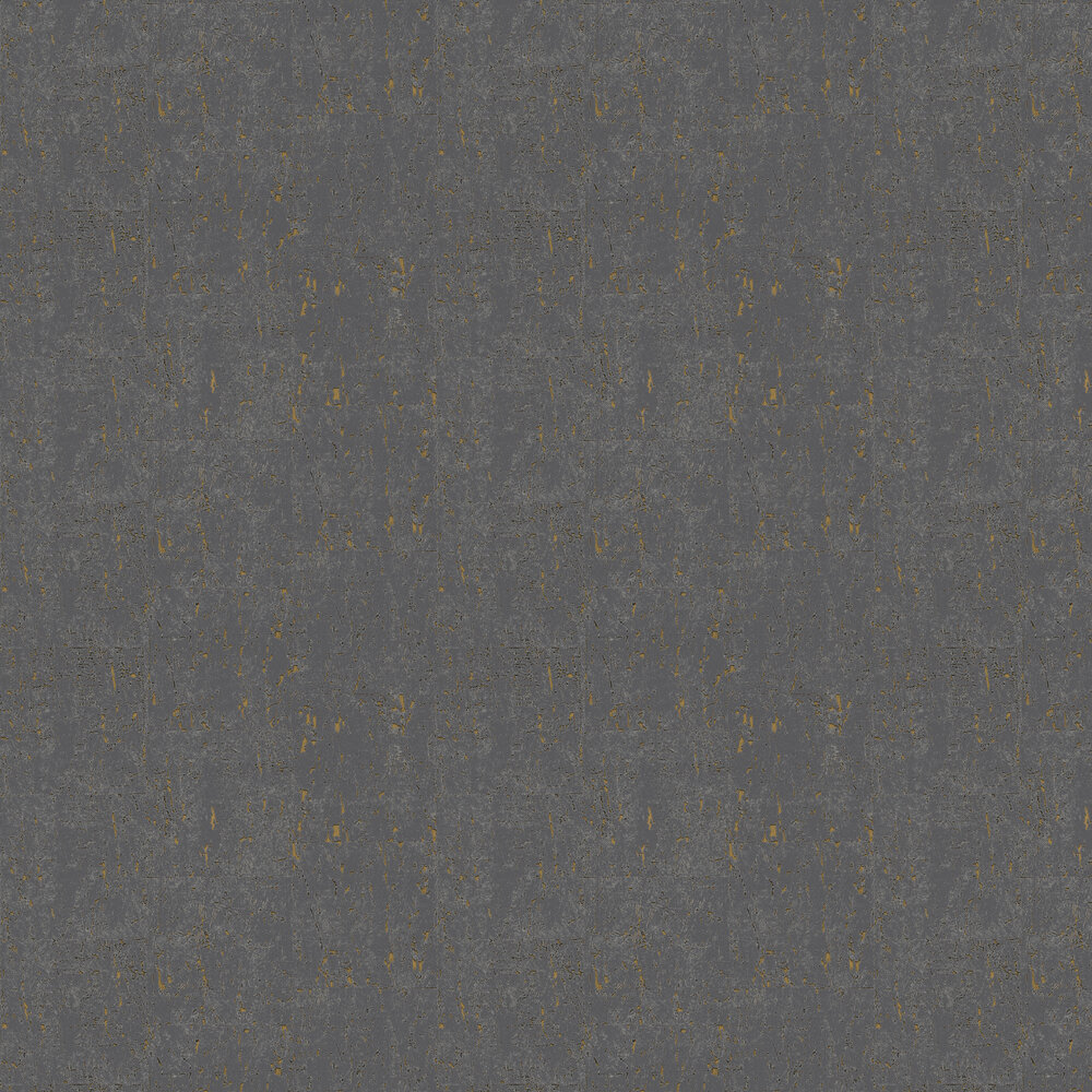 Cork Effect Wallpaper - Silver / Gold - by Brewers
