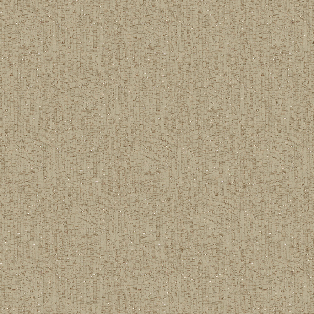 Natural Cork Wallpaper - Pale Gold - by Brewers
