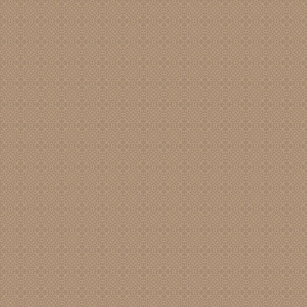 Fabric Diamond Wallpaper - Copper - by SketchTwenty 3