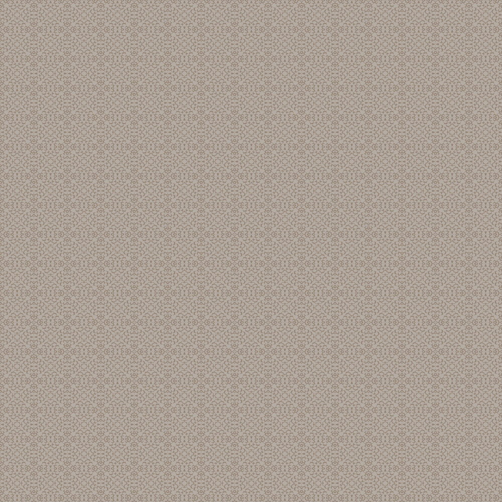 Fabric Diamond Wallpaper - Taupe / Brown - by SketchTwenty 3