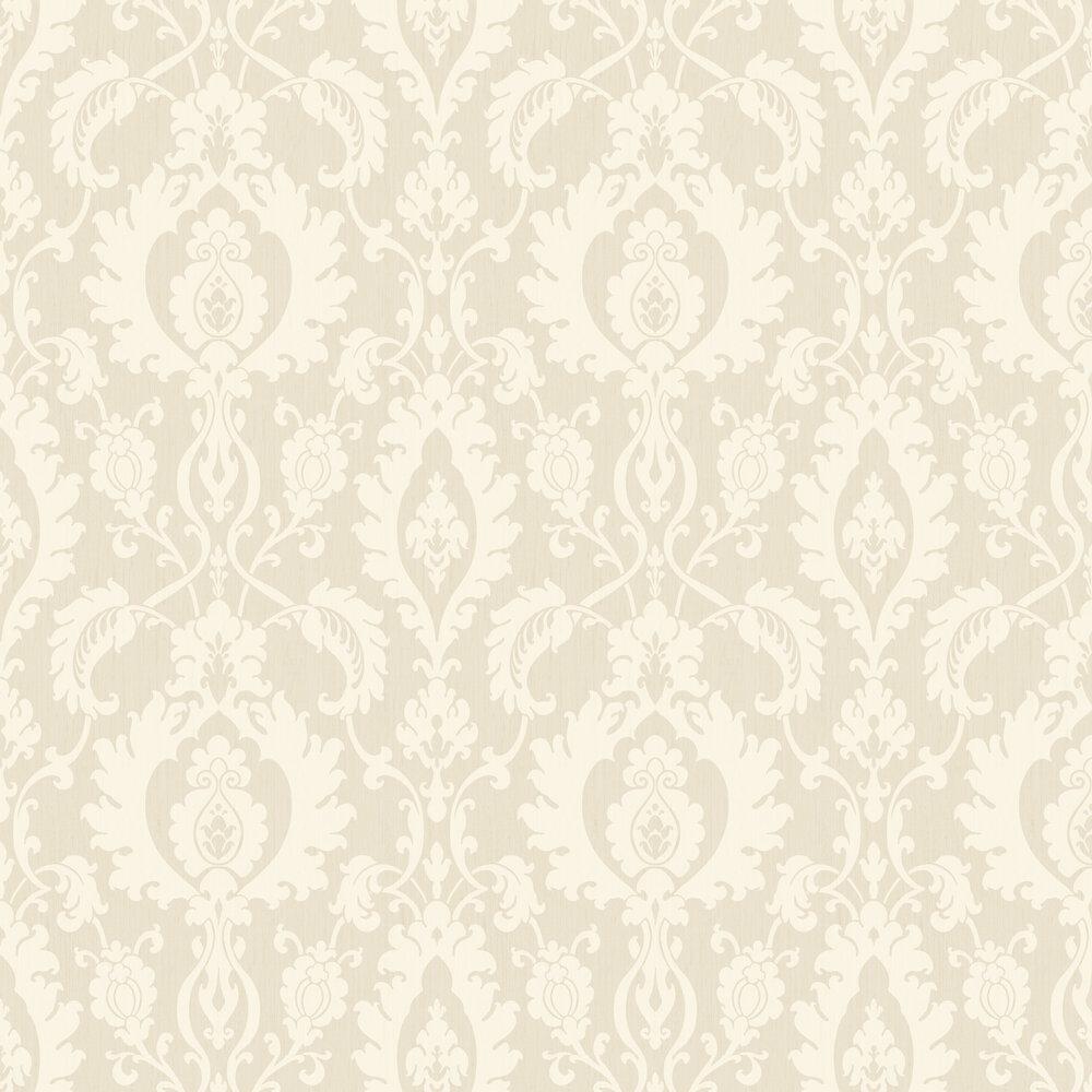 SketchTwenty 3 Bold Damask Ivory Wallpaper - Product code: SL00831