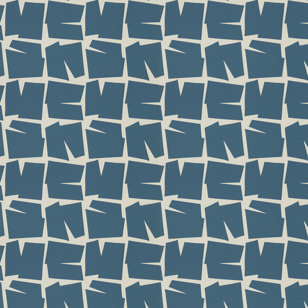 Scion Moqui Denim Wallpaper - Product code: 111806