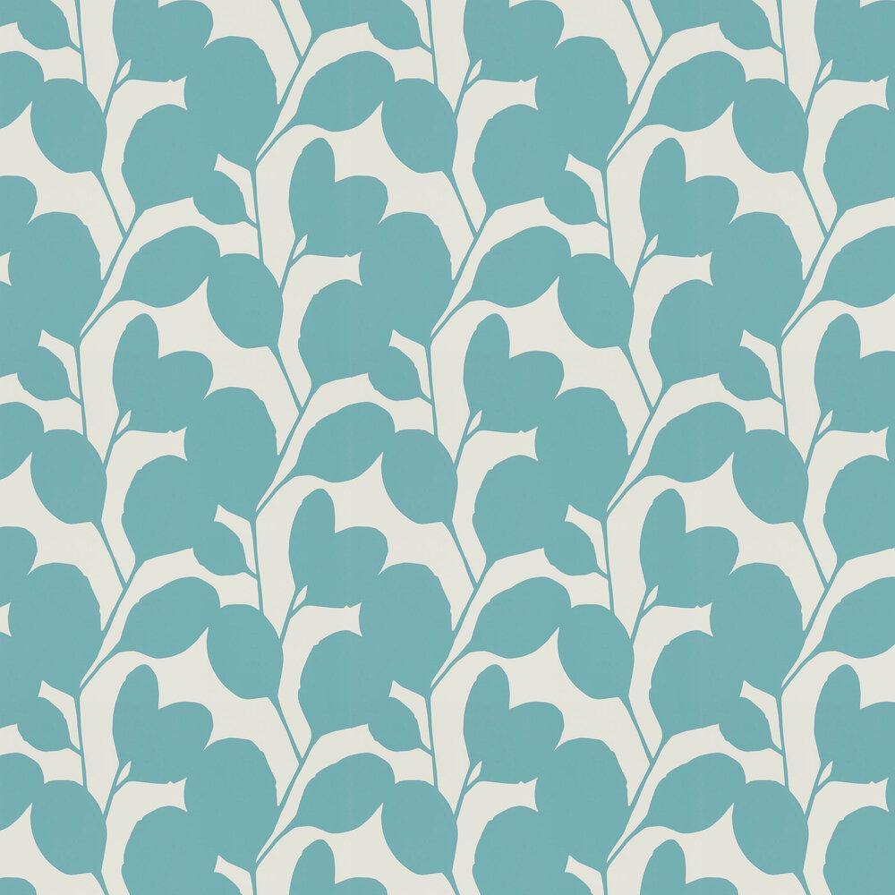 Ocotillo Wallpaper - Marine - by Scion
