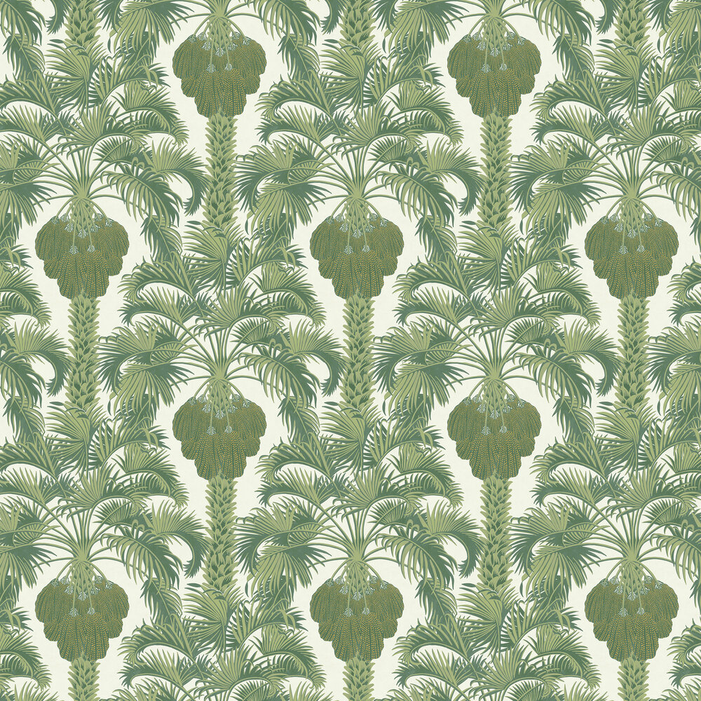Cole & Son Hollywood Palm Leaf Green Wallpaper - Product code: 113/1004