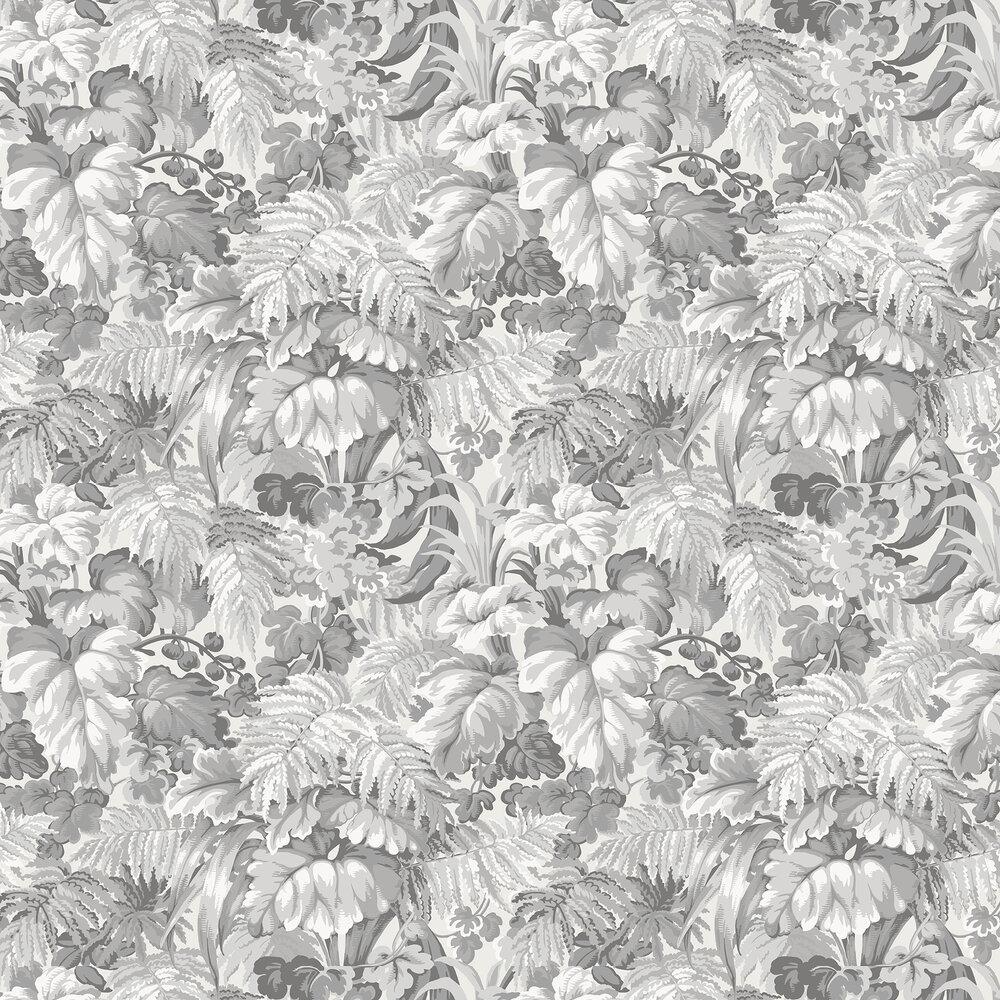 Royal Fernery Wallpaper - Warm Grey - by Cole & Son