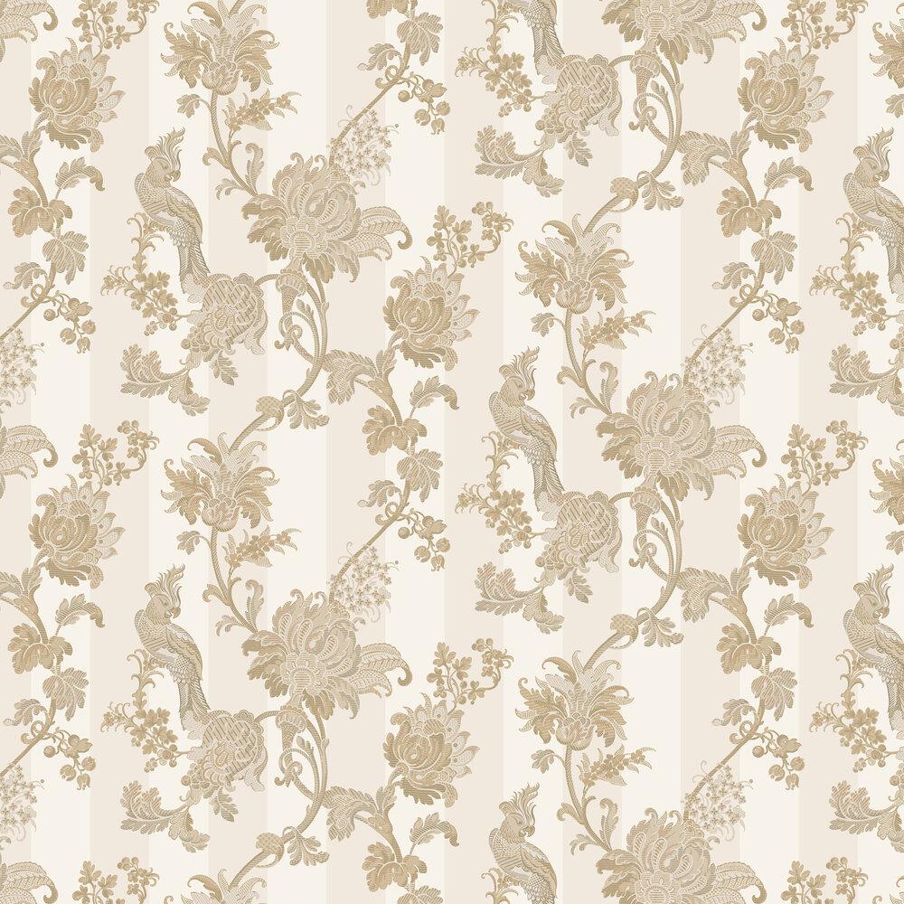 Zerzura Wallpaper - Gold / Parchment - by Cole & Son