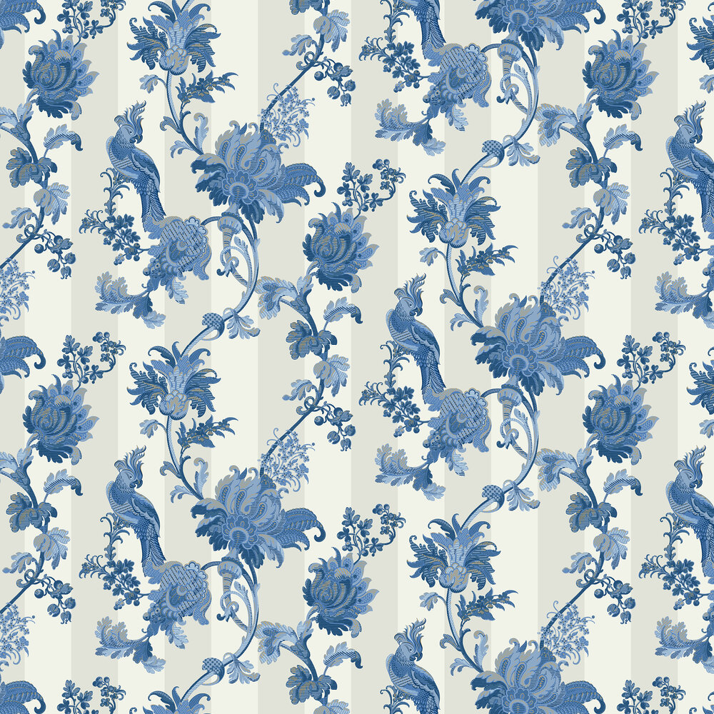 Cole & Son Zerzura China Blue Wallpaper - Product code: 113/8022